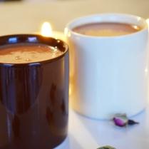 Zoom chocolat chaud