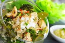 Zoom taboulé de quinoa