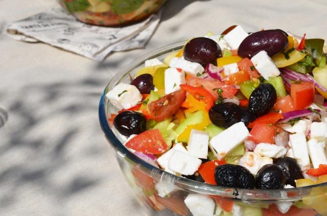 Salade Grecque 3