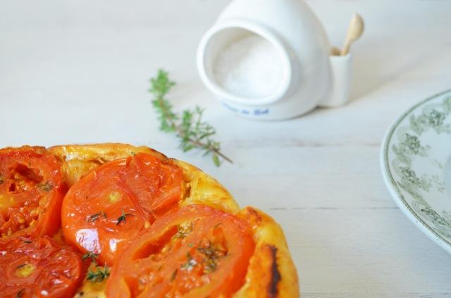 Zoom tatin de tomates